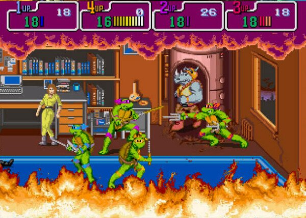 Teenage Mutant Ninja Turtles - The Arcade Game