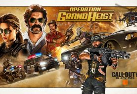 Call Of Duty : Black Ops 4 - Operation Grand Heist è disponibile Su Ps4