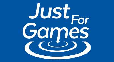 Just for Games logo