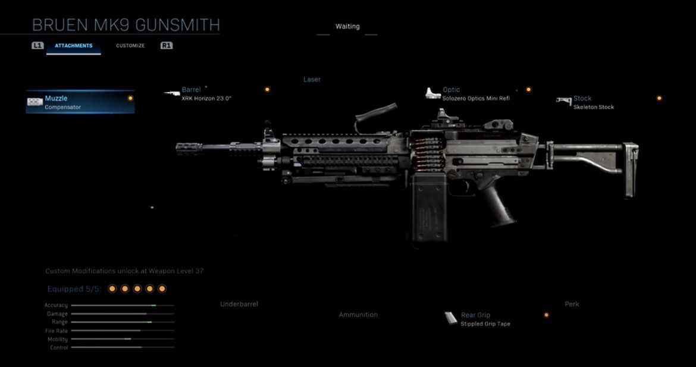 Call of Duty Warzone - Bruen MK9