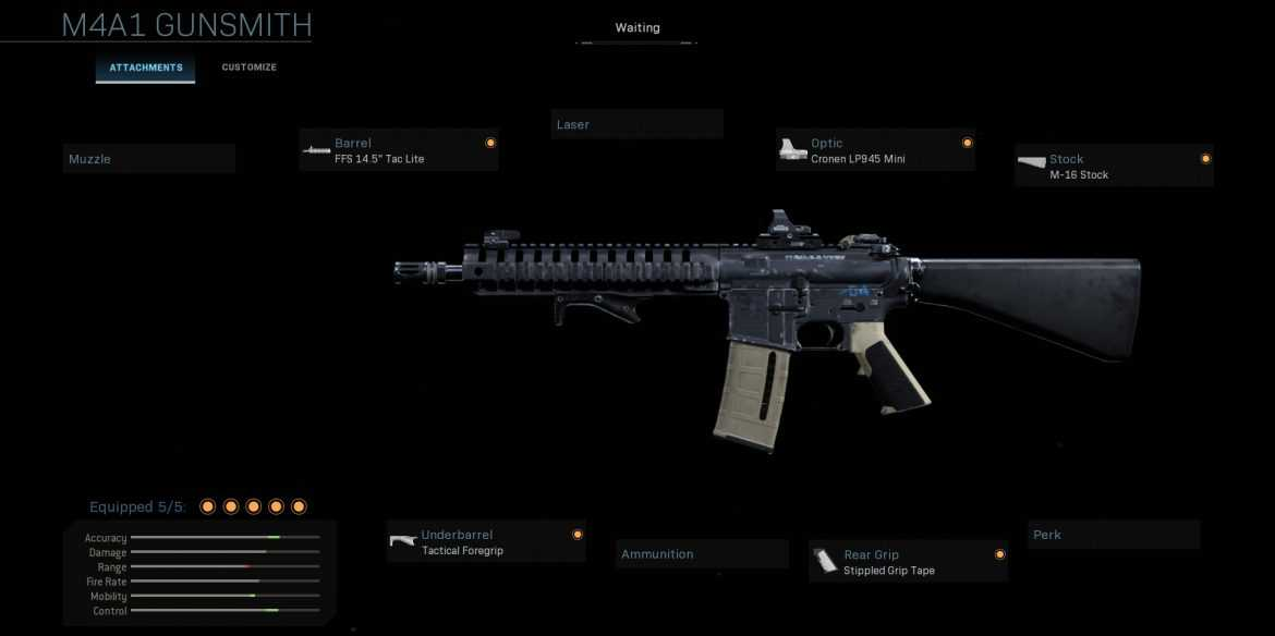 Call of Duty Warzone - M4A1