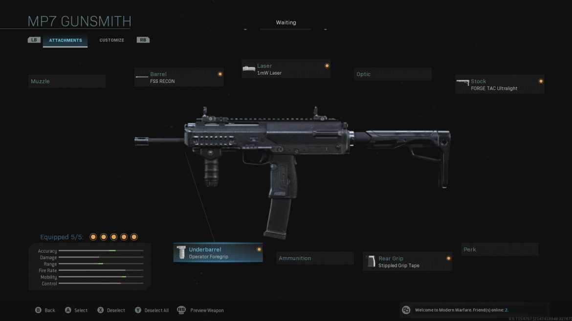 Call of Duty Warzone - MP7