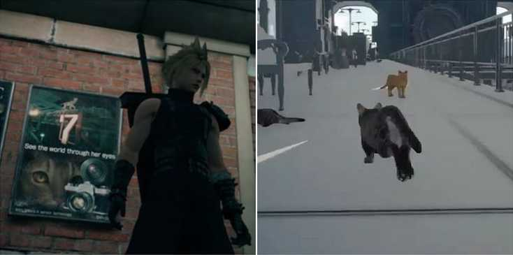 Final Fantasy VII Remake - Cat Cam