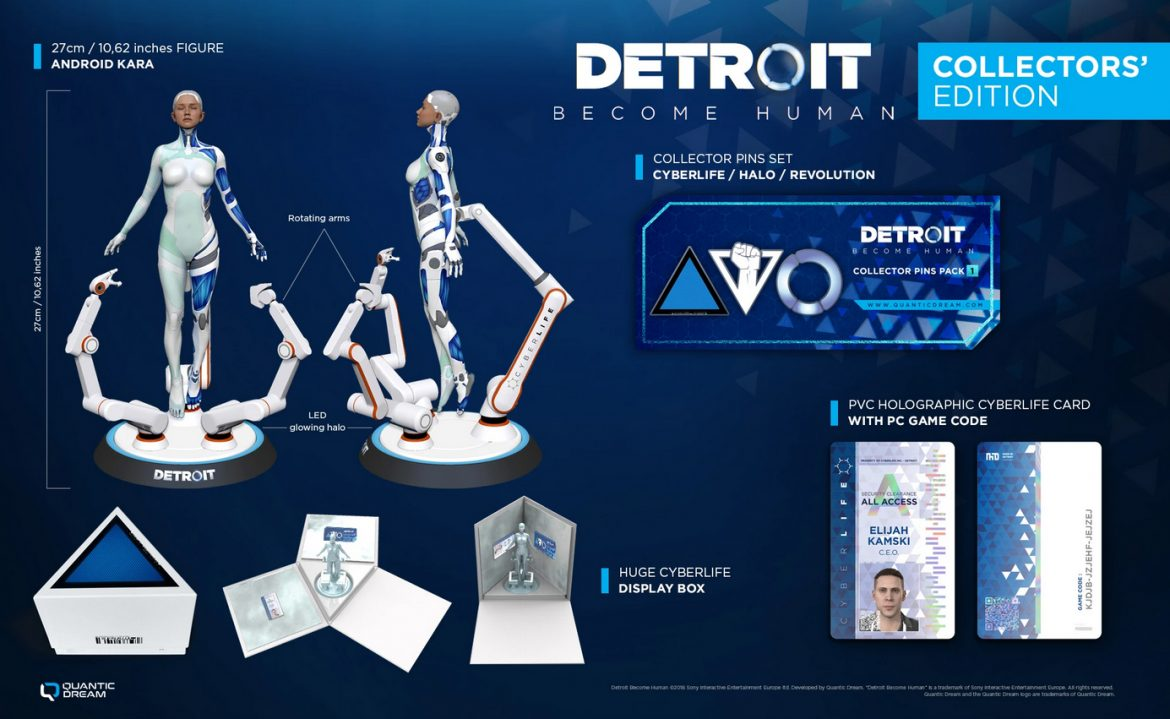 Detroit Become Human Collector's