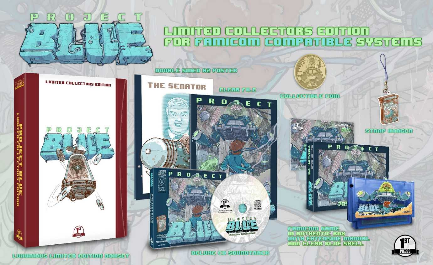 Project Blue (Famicom Collector's)