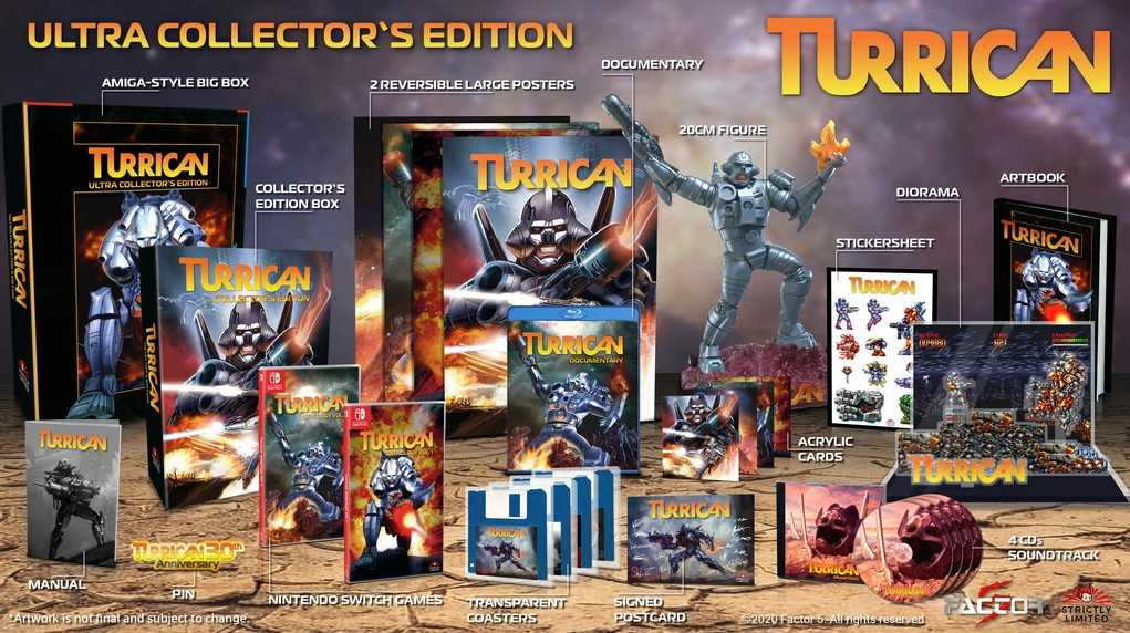 Turrican Collector's Edition
