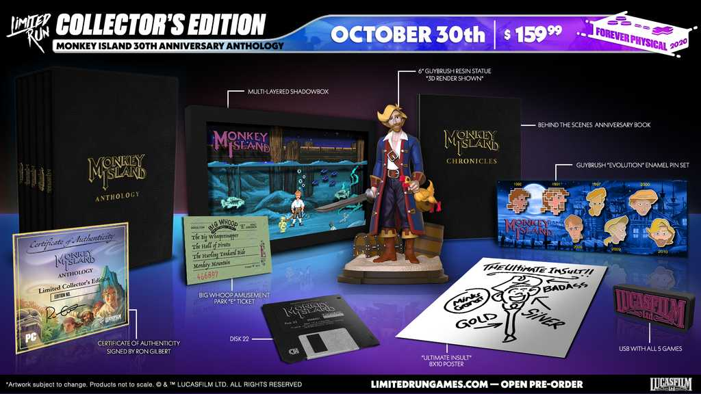 Monkey Island 30th Anniversary Anthology