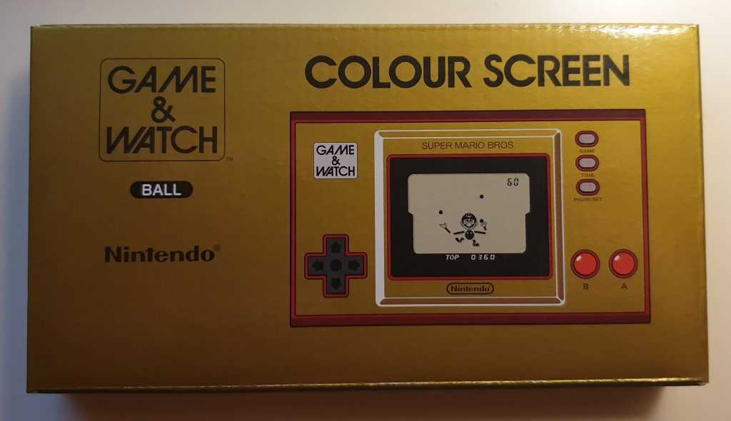 Game&Watch BAll